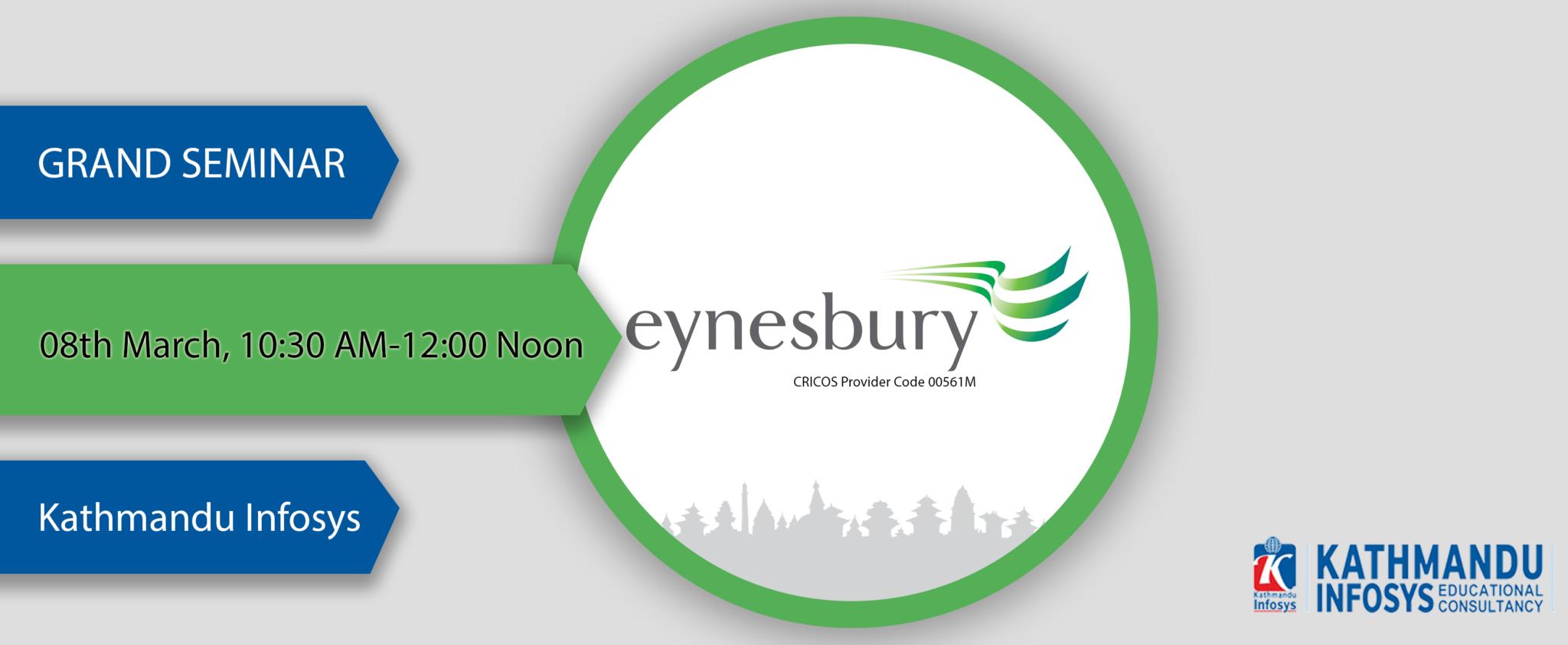 eynesbury seminar at kathmandu infosys