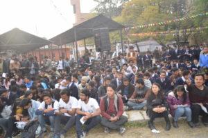 KIEC Pulchowk Bingo Crowd students