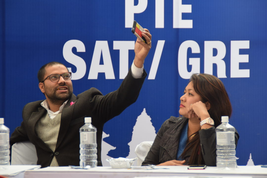 KIEC Pulchowk MD Rajendra Rijal and Chairperson Namita Shrestha