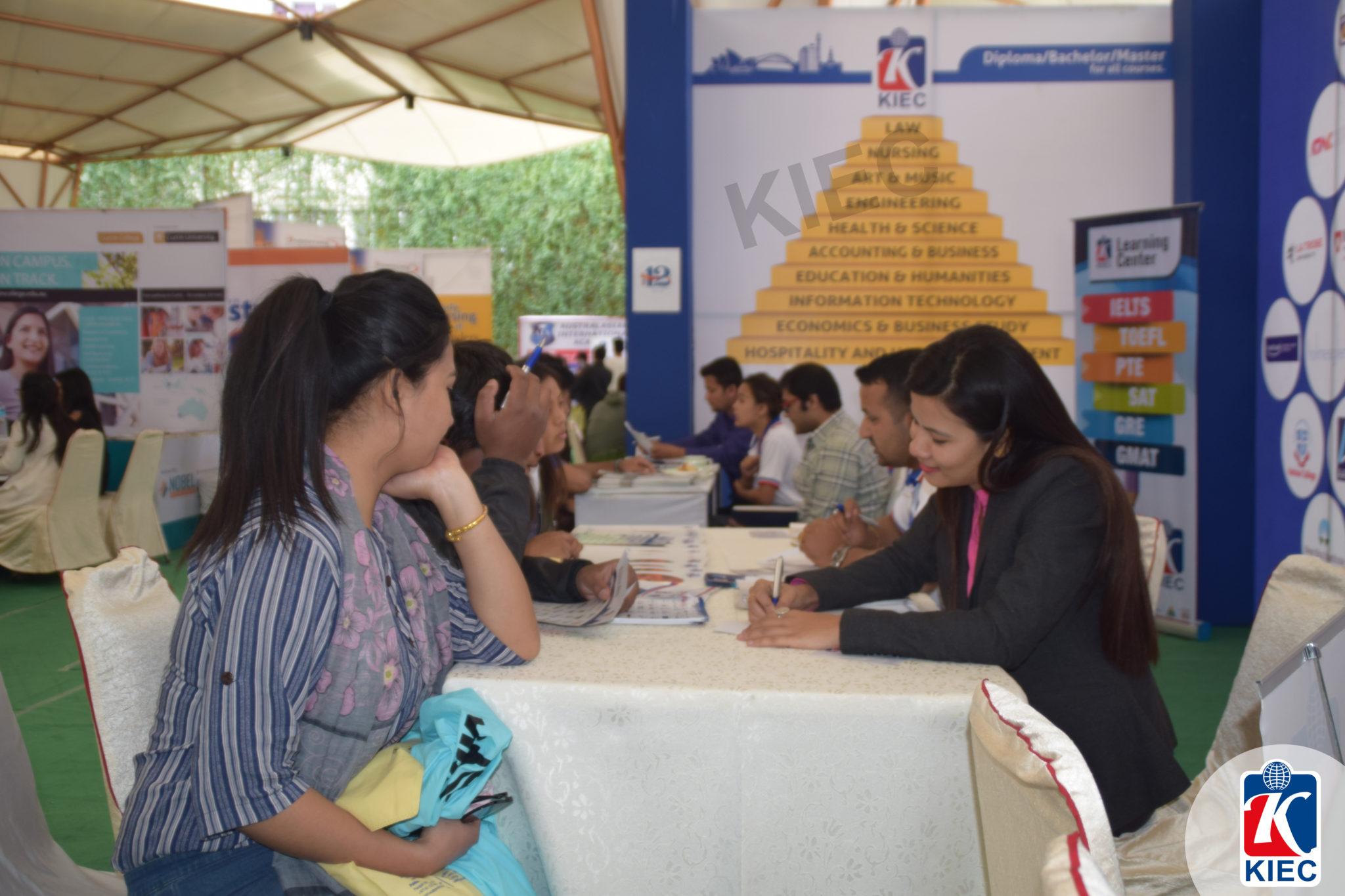 KIEC stall Visitors