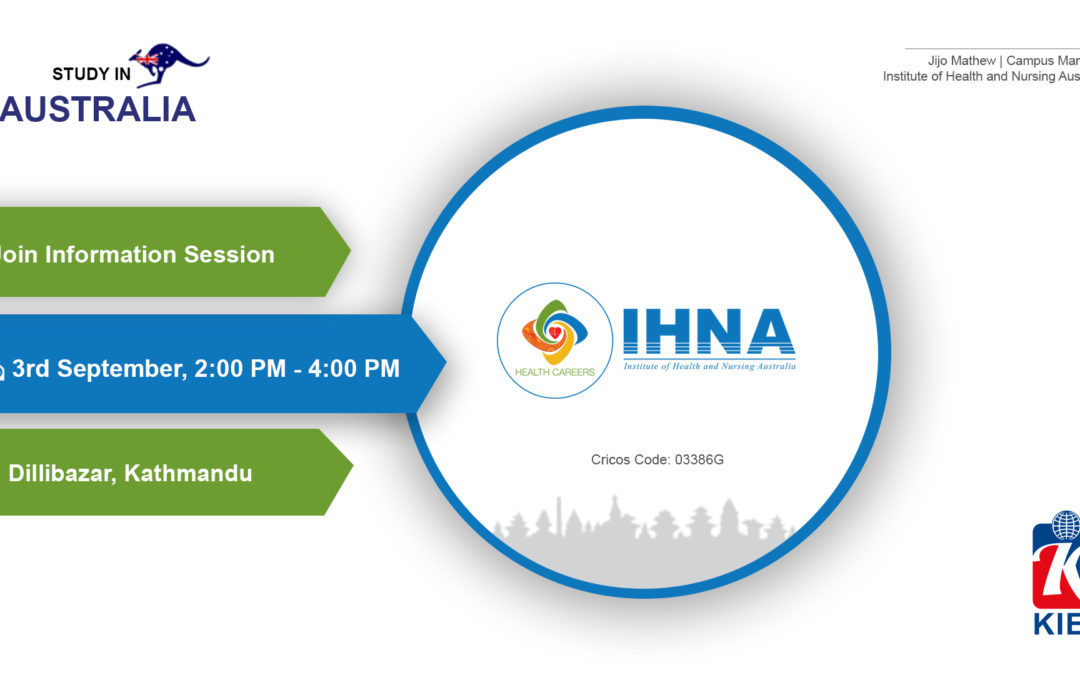 Join Information Session by IHNA