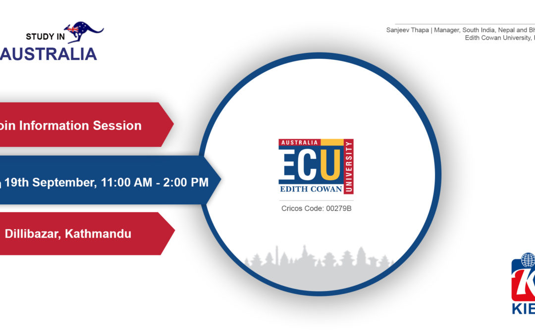 Join Information Session by ECU