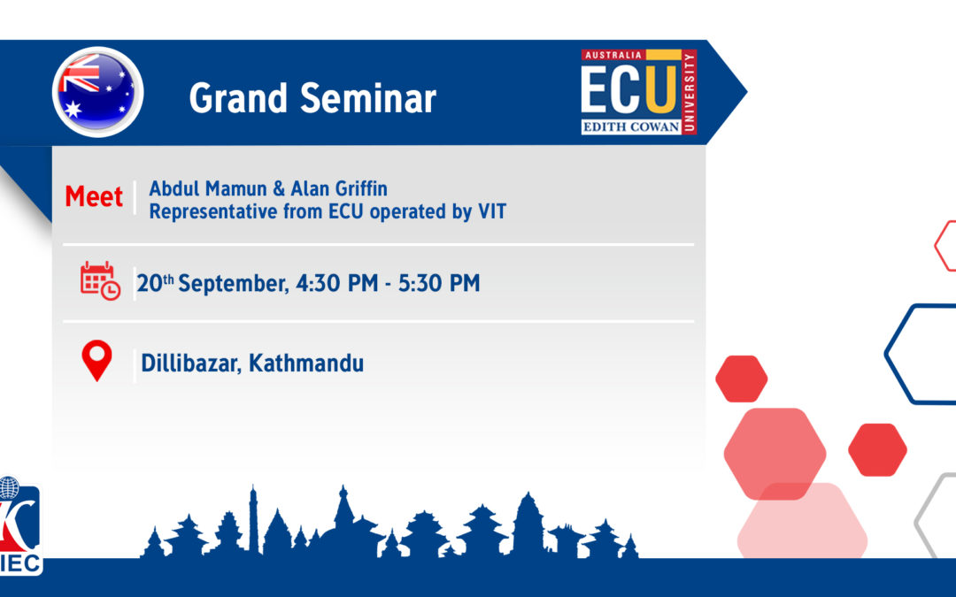 Join Information Session by ECU Operated by VIT