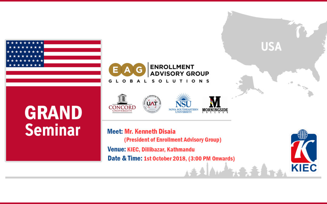 Join Information Session by Enrollment Advisory Group (EAG), USA