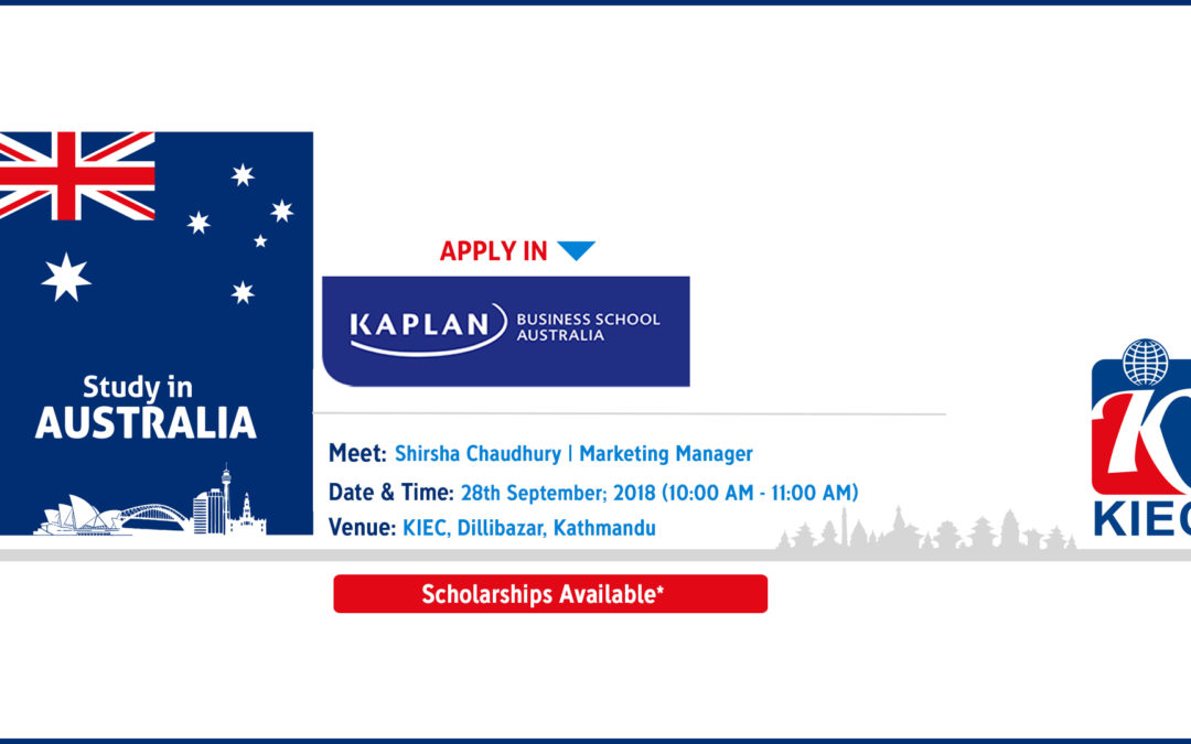 Admission day of Kaplan Business School