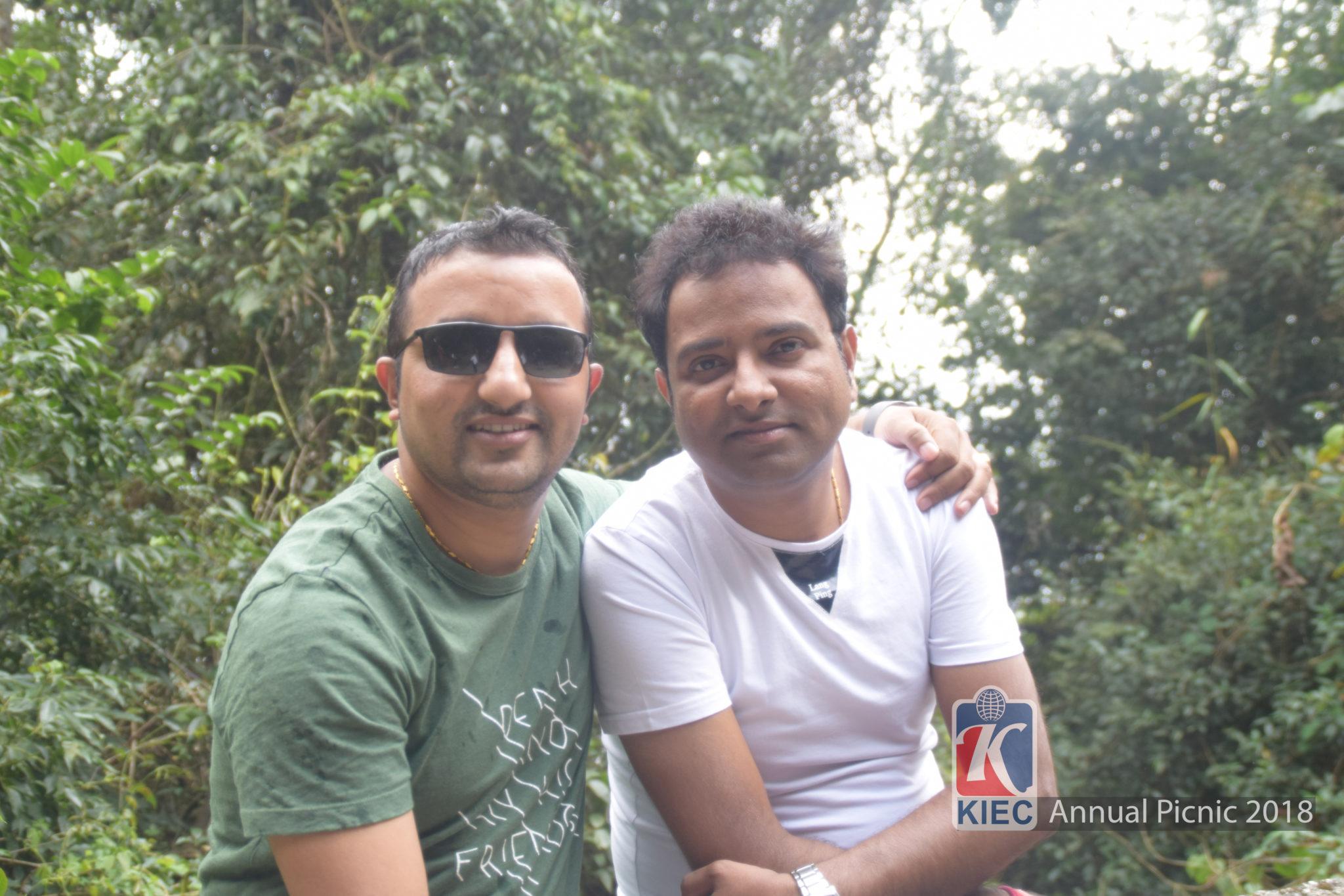 Shyam Dahal with Pramod Soni