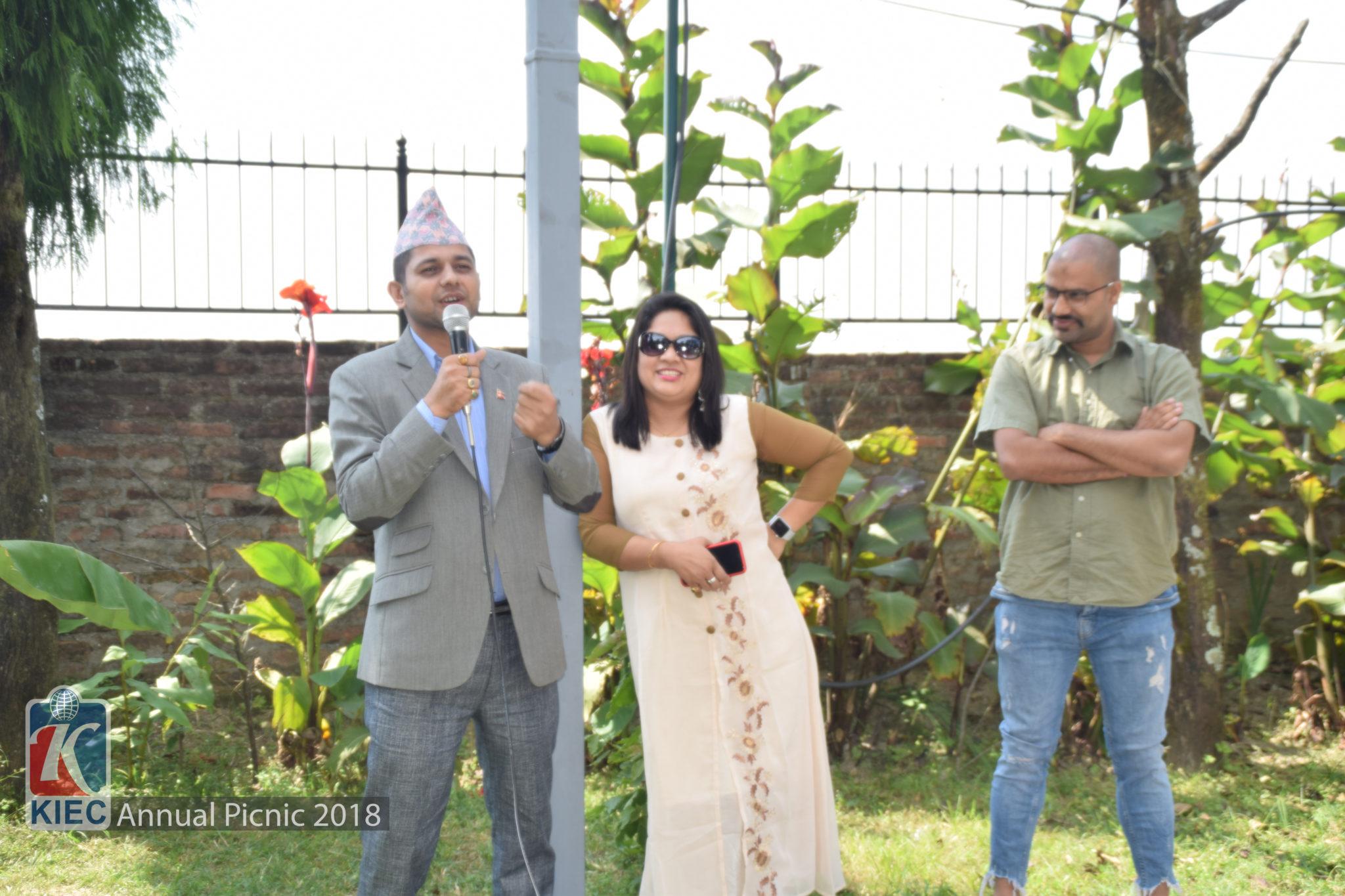 Dr. Puspa raj Bhattarai with Namita Shrestha & Rajendra Rijal