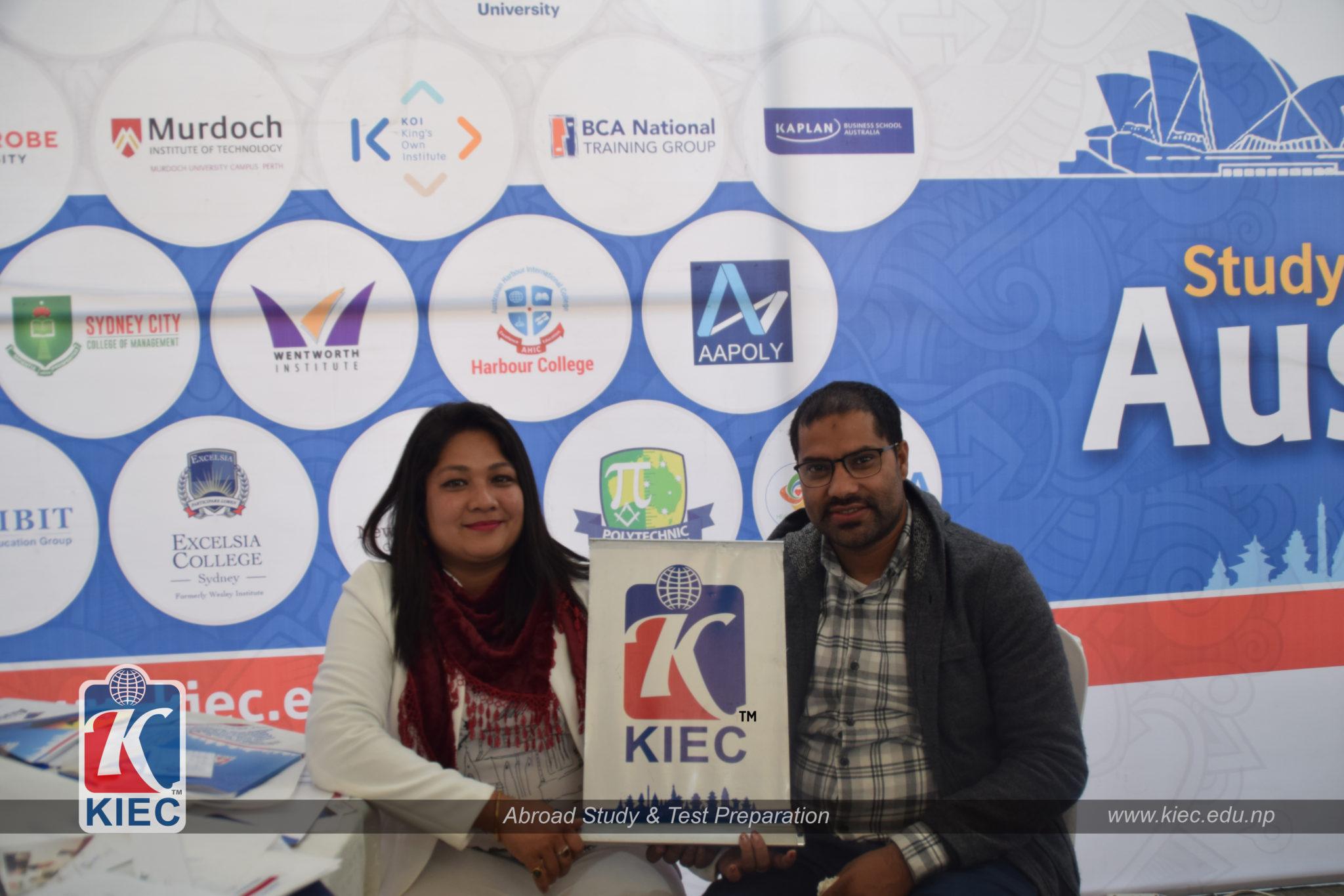 Visitors in KIEC Stall