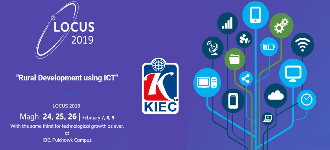 KIEC welcomes you 16th National Technological Fest   LOCUS 2019