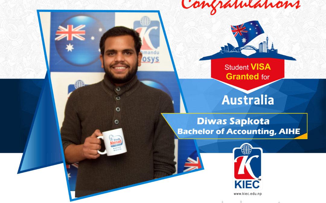 Diwas Sapkota | Australia Visa Granted