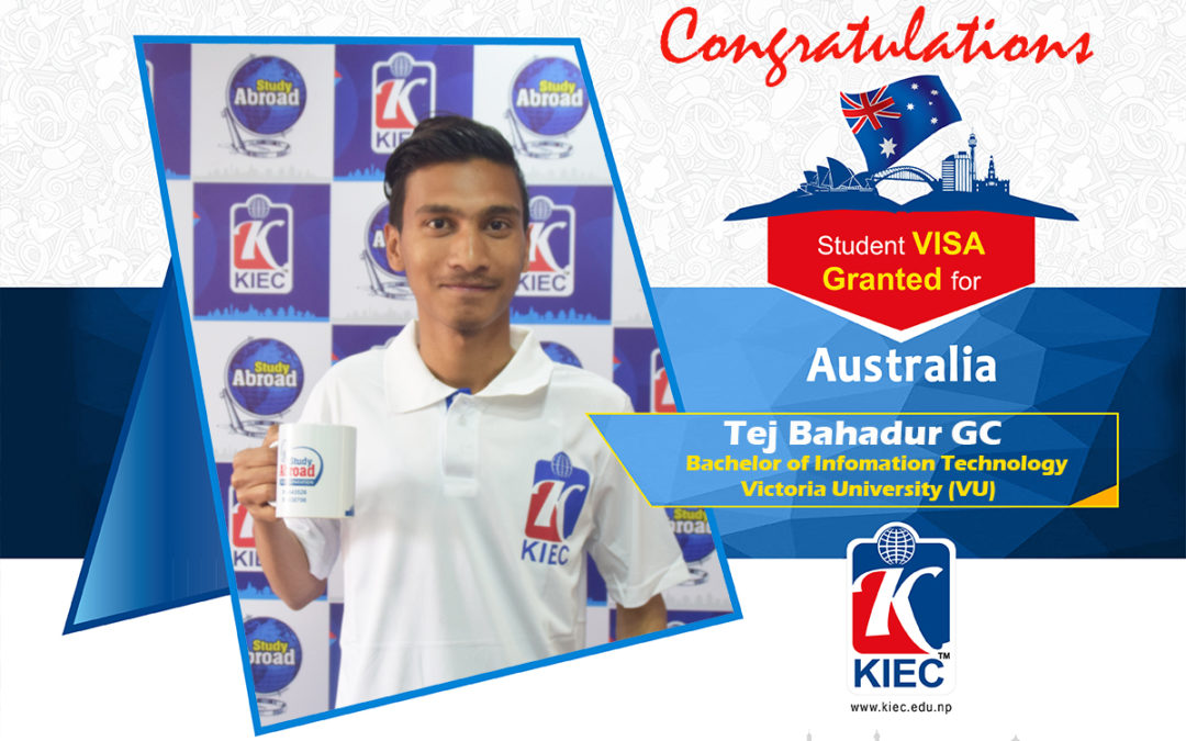 Tej Bahadur GC | Australia Study Visa Granted