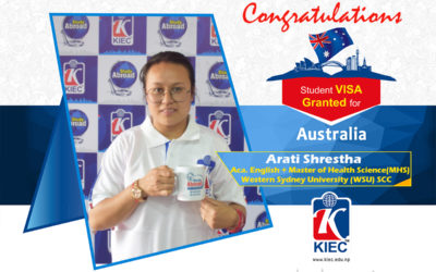 Arati Shrestha | Australia Study Visa Granted