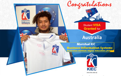 Marshal Kc | Australia Study Visa Granted