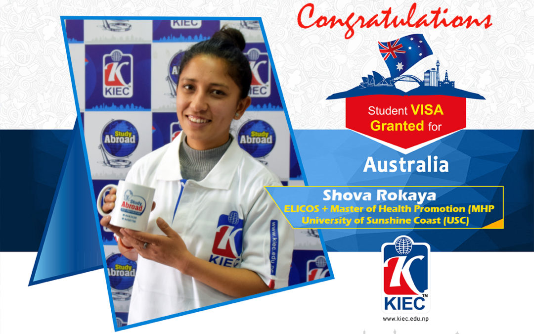 Shova Rokaya | Australia Study Visa Granted