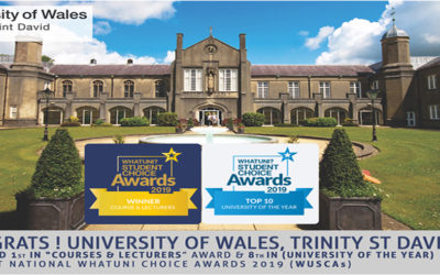 KIEC | Congratulations University of Wales Trinity Saint David