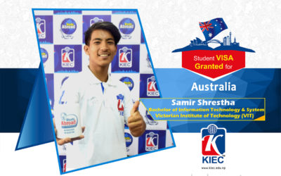 Samir Shrestha | Australia Study Visa Granted