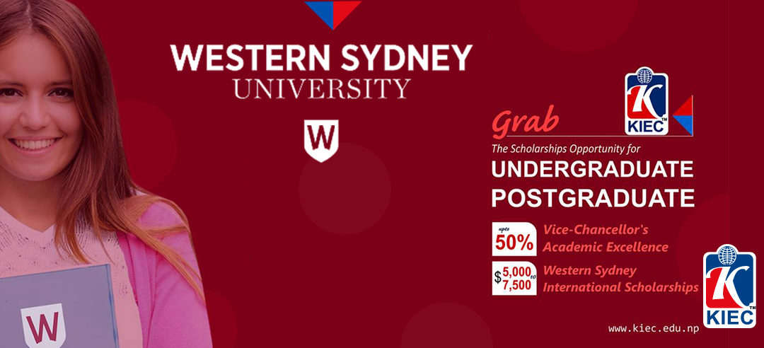 New Multi-Year Scholarships at Western Sydney University