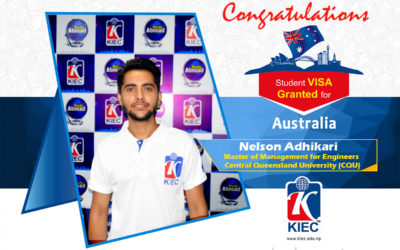 Nelson Adhikari | Australia Study Visa Granted