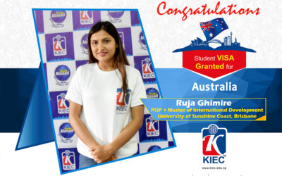Ruja Ghimire | Australian Study Visa Granted