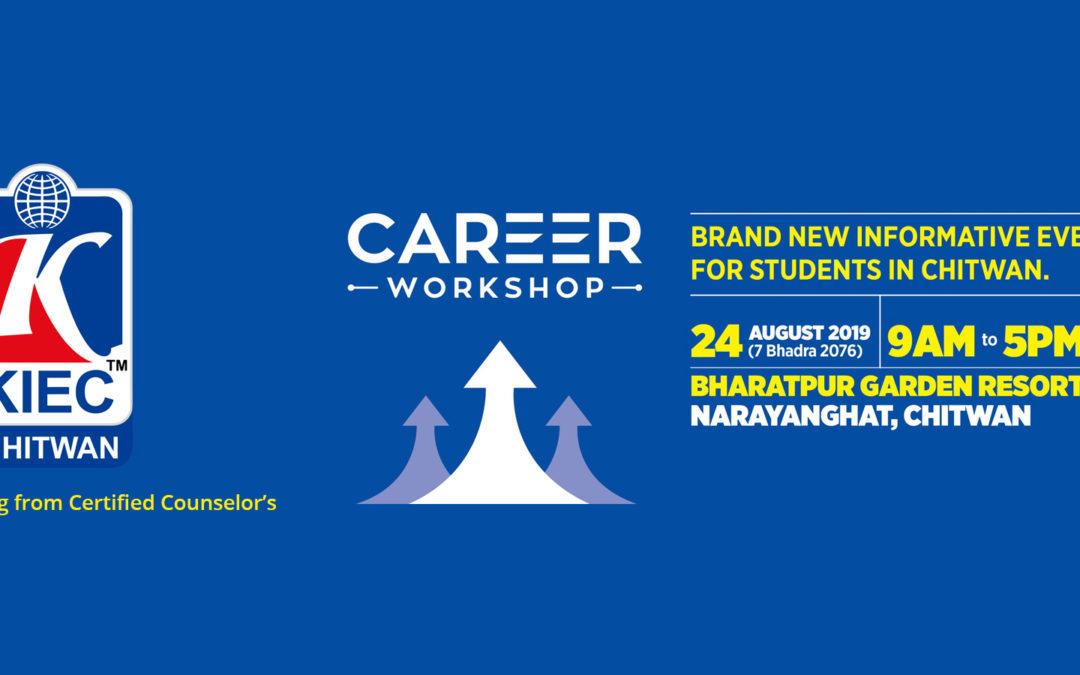 Visit KIEC Stall at Career Workshop Chitwan