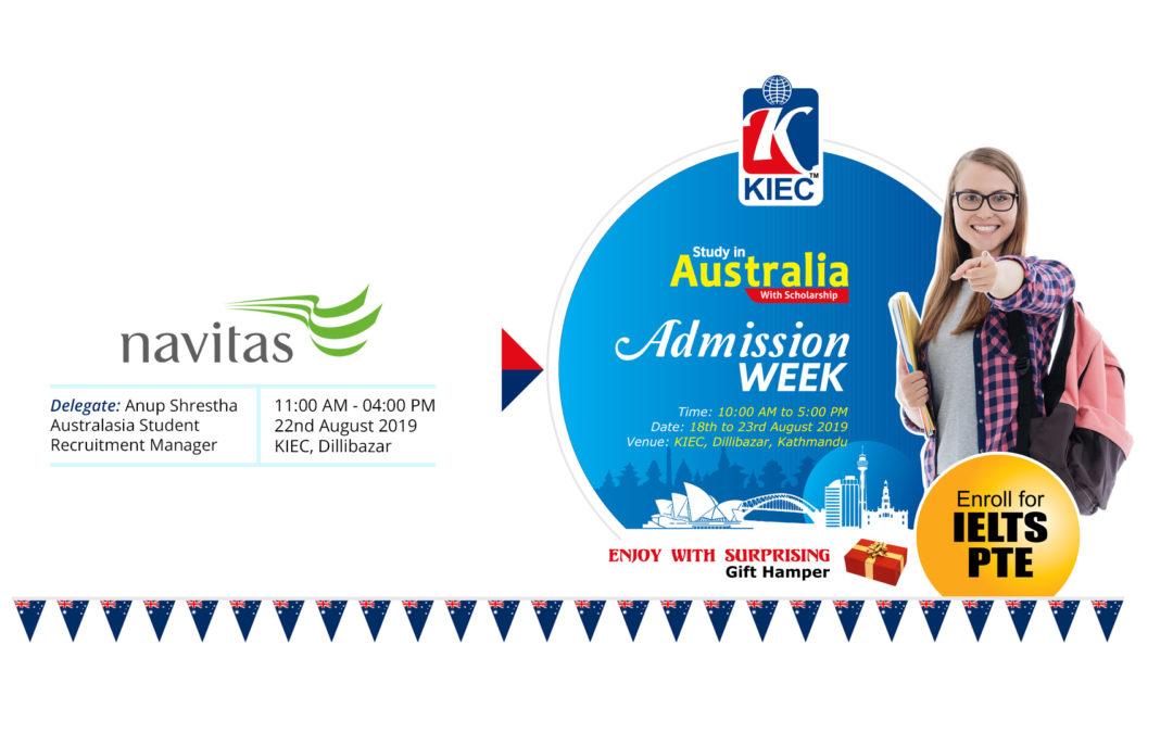 Meet Navitas Representative at KIEC Australia Admission week