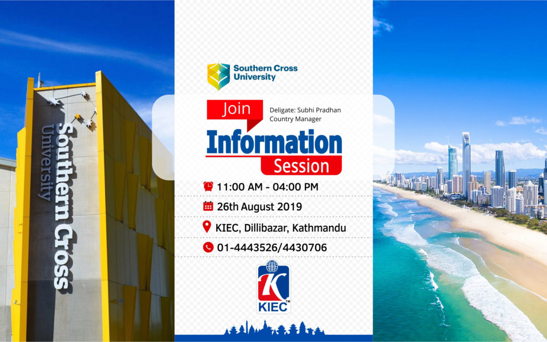 Join Information Session with Southern Cross University
