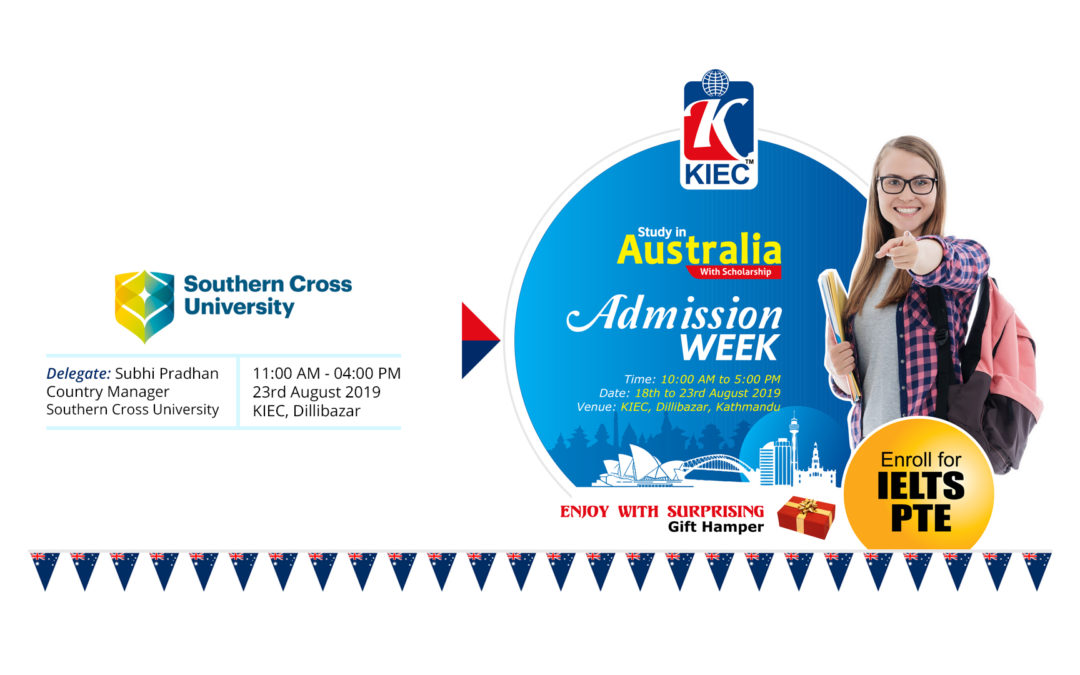 Meet SCU representative at KIEC Australia Admission Week
