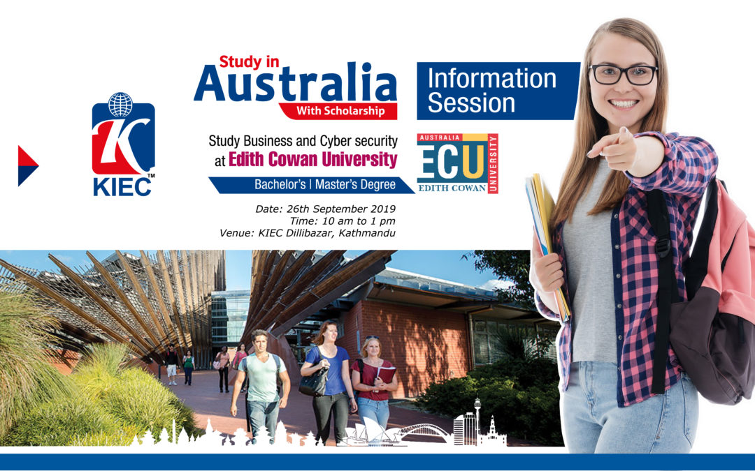 Join Information Session with Edith Cowan University (ECU)
