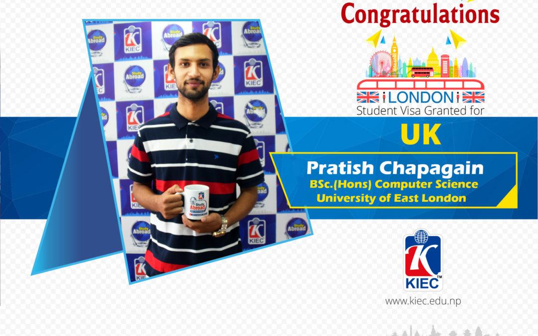 Pratish Chapagain | UK Study Visa Granted