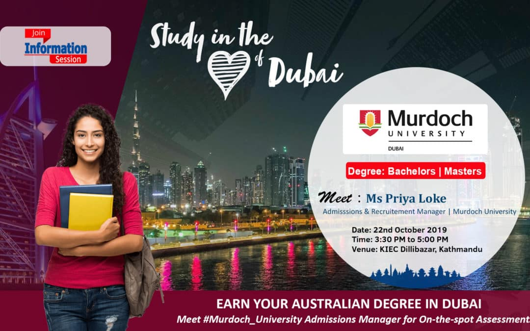 Join Information session with Murdoch University, Dubai