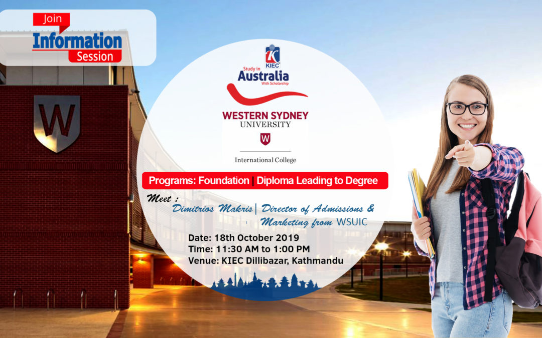 Information Session with Western Sydney University Int'l College